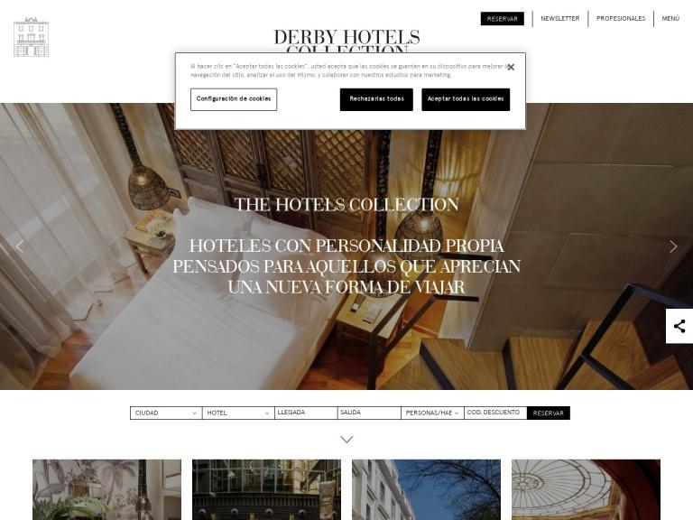 Derby Hotels screenshot