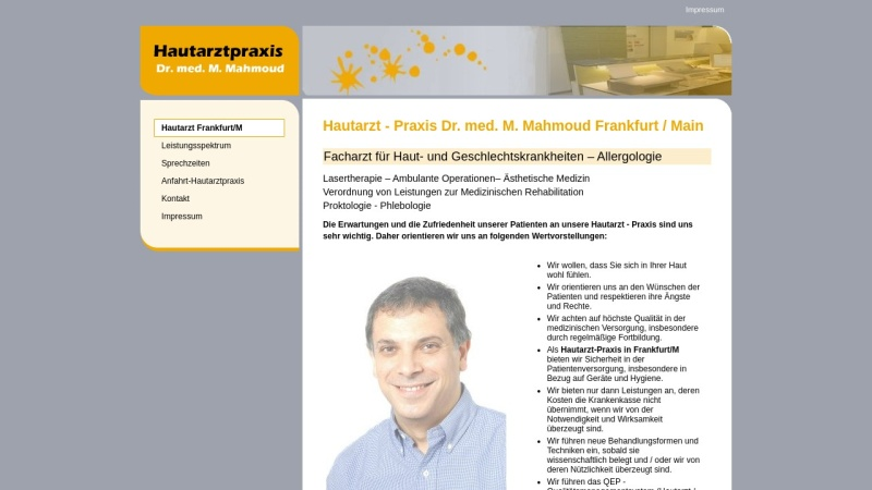 www.dermafrankfurt.de Vorschau, Mahmoud, Dr. med. M.