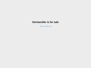 Screenshot για την ιστοσελίδα dermaroller.gr