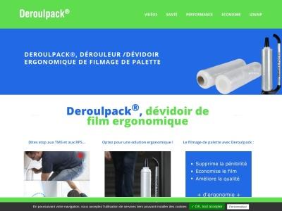 Dérouleur de film étirable: Deroulpack®, la solution ergonomique !