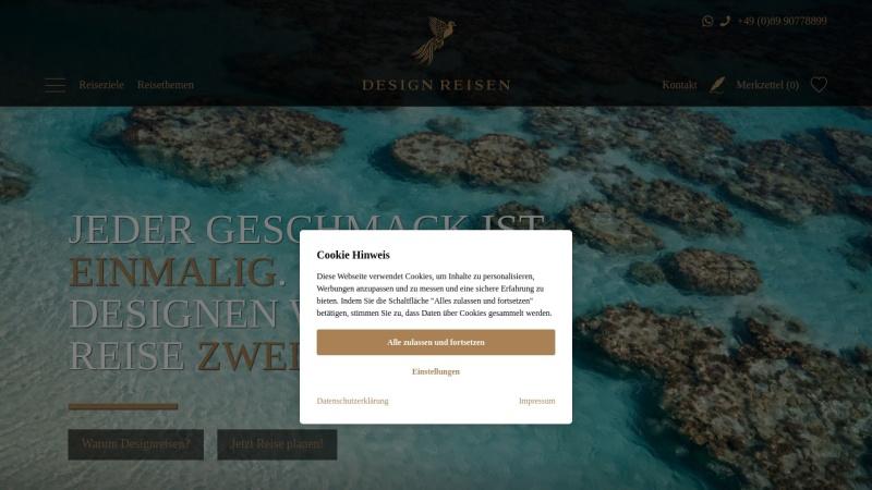 www.designreisen.de Vorschau, Designreisen GmbH