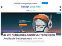 27 Of The Best CSS And HTML Frameworks Available To Download