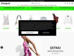 Desigual.com screenshot