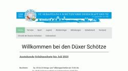 www.deutzer-schuetzen.de Vorschau, Düxer Schötze - St. Sebastianus Schützenbruderschaft Deutz e.V.
