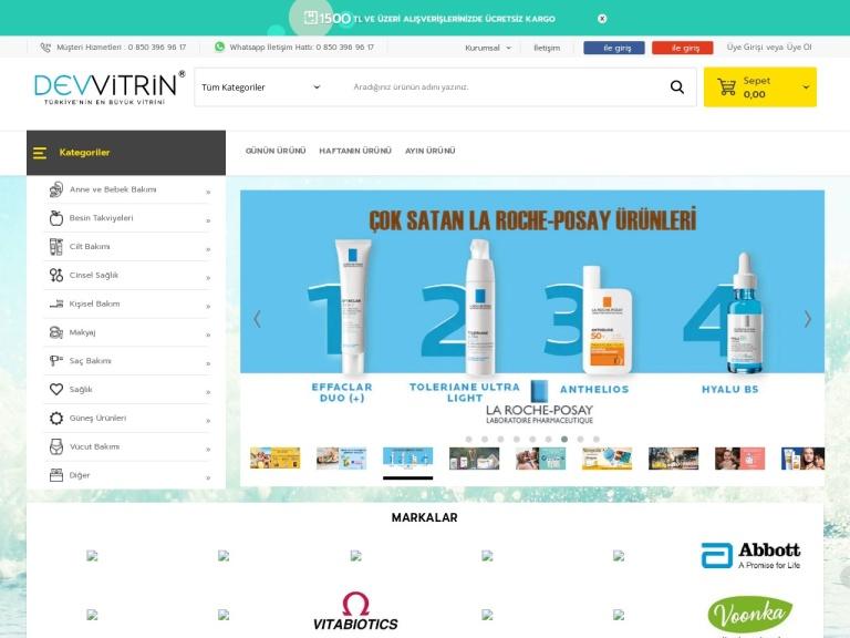 Dev Vitrin screenshot