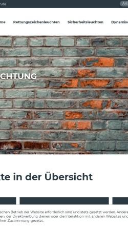 Vorschau der mobilen Webseite www.dfa-gmbh.de, Dirk Franke Akkumulatoren GmbH