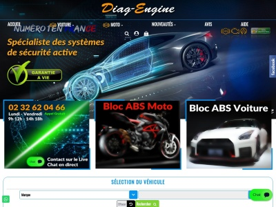 Diag Engine - Spécialiste de l'électronique automobile