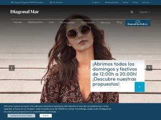 Captura de pantalla para diagonalmarcentre.es