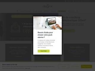 Capture d'écran pour diagral.fr