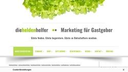 www.die-heldenhelfer.de Vorschau, Die Heldenhelfer – Marketing für Gastgeber