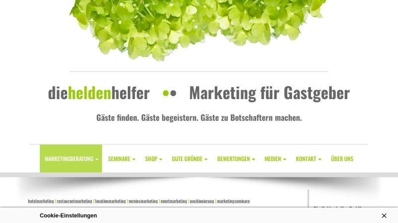 www.die-heldenhelfer.de Vorschau, Die Heldenhelfer GmbH