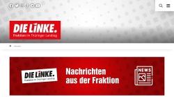www.die-linke-thl.de Vorschau, Die Linke. - Fraktion Thüringen