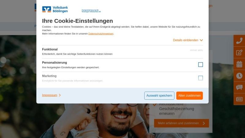 www.diebank.de Vorschau, Vereinigte Volksbank AG