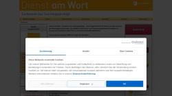 www.dienst-am-wort.de Vorschau, Erprobte Gottesdienstmodelle von Praktikern für Praktiker
