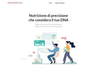 screenshot dietagenetica.it
