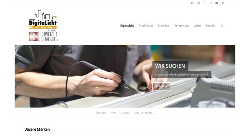 www.digitalicht.de Vorschau, DigitaLicht AG