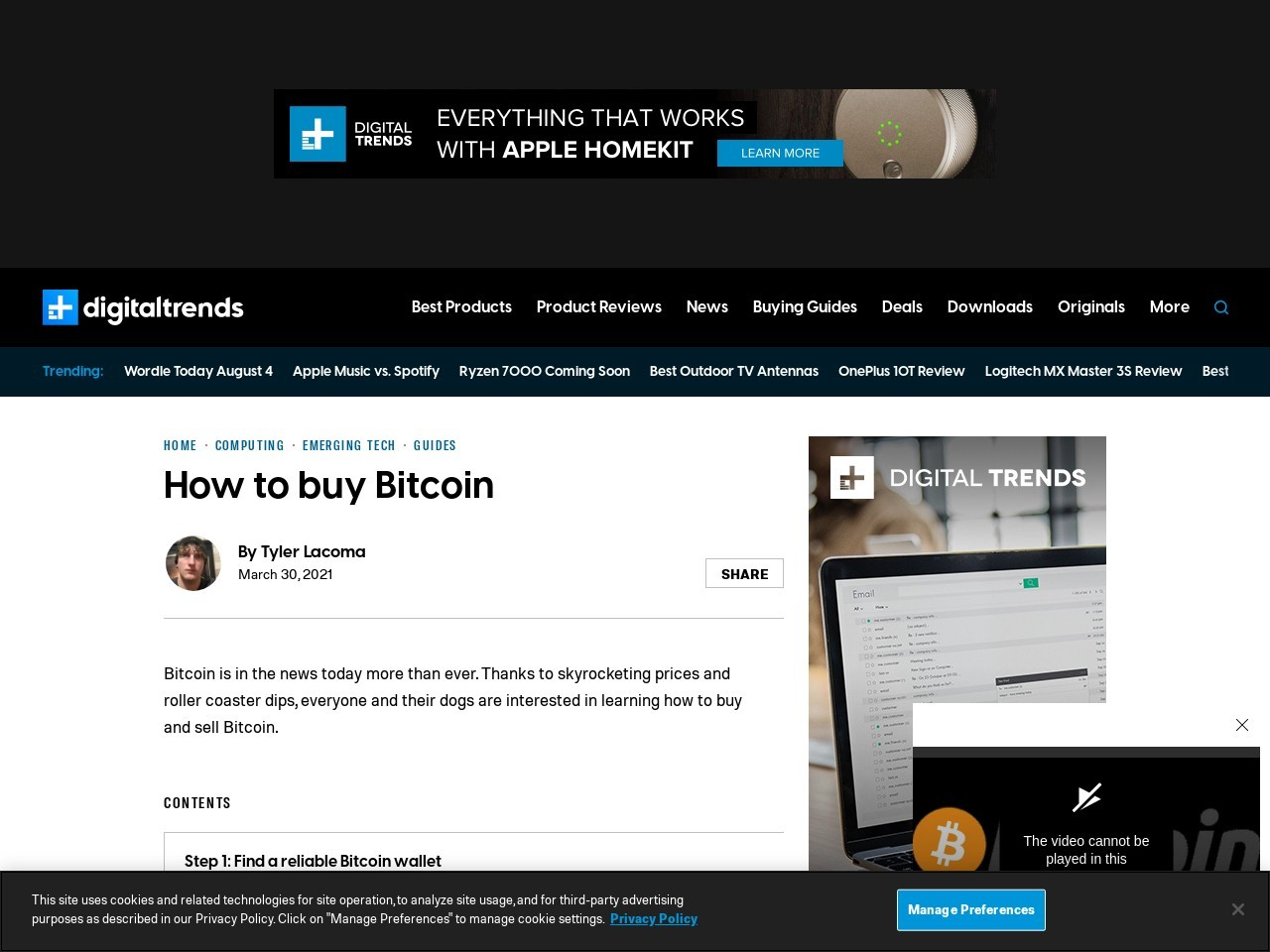 How to Buy Bitcoin, Litecoin, and Dogecoin | Digital Trends