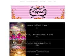 Dippedbodybar Bigcartel coupon codes December 2017