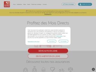 Capture d'écran pour direct-assurance.fr