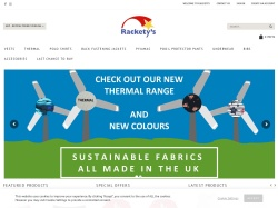 Rackety's UK Promo Codes 2018