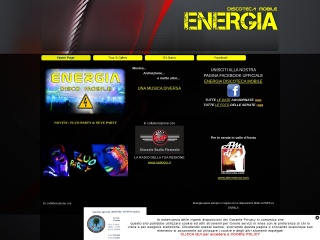 screenshot discoenergia.com