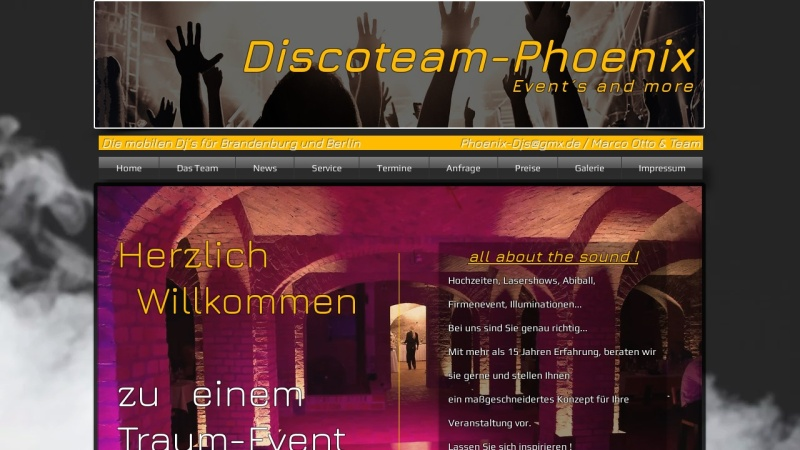 www.discoteam-phoenix.com Vorschau, Discoteam-Phoenix