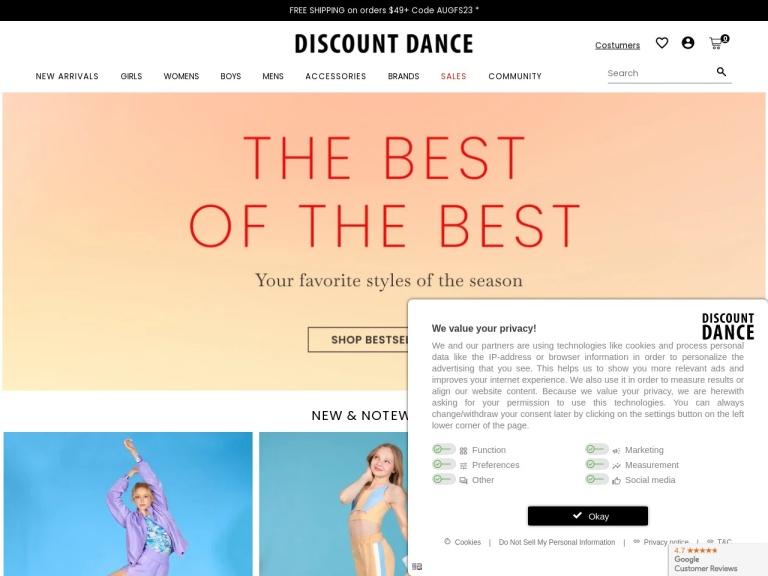 Discount Dance screenshot