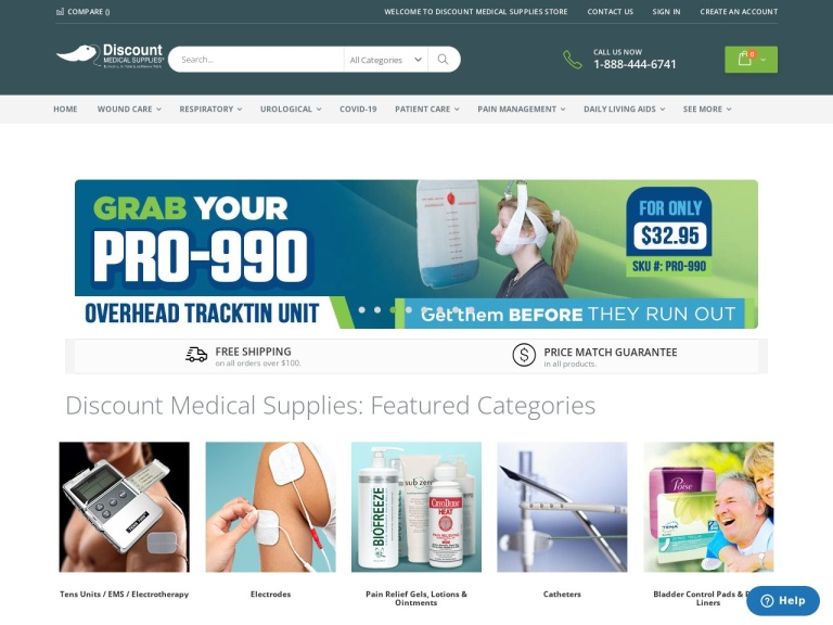 Discount Medical Supplies screenshot