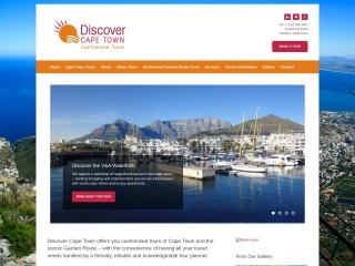 Screenshot for discover-capetown.co.za