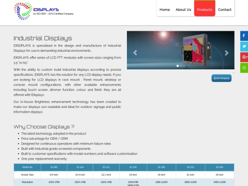 Avionics Displays | Indus Displays Systems