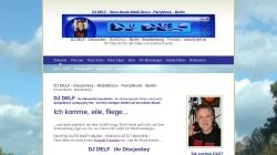 www.dj-delf.de Vorschau, DJ Delf