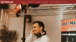 www.dj-marcel-bremen.de Vorschau, DJ Marcel