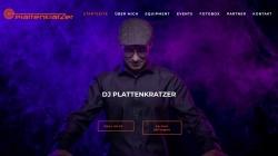 www.dj-plattenkratzer.de Vorschau, DJ Plattenkratzer