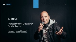 www.dj-steve.de Vorschau, DJ Steve - Professioneller Discjockey für alle Events