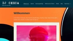 www.djcheca.de Vorschau, DJ Checa