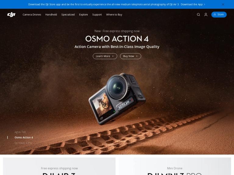 DJI screenshot