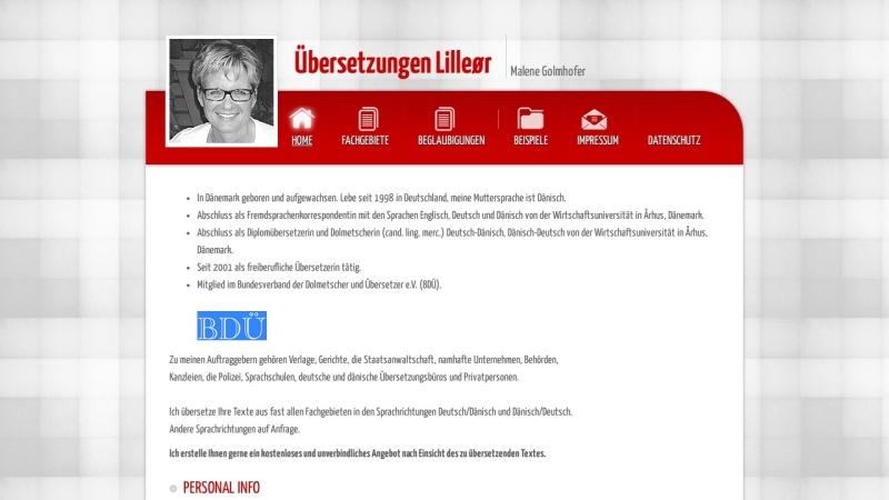 www.dk-uebersetzungen.de Vorschau, Übersetzungen Lilleor, Inh. Malene Golmhofer