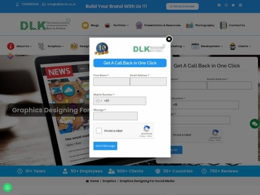 Graphic Designing for Social Media
