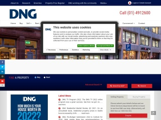 Screenshot for dng.ie