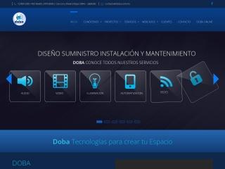 Captura de pantalla para doba.com.mx