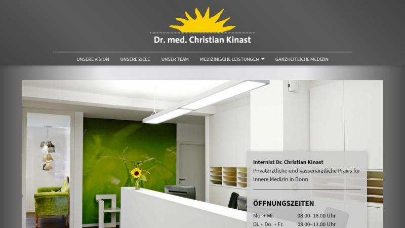 www.doc-kinast.de Vorschau, Kinast, Dr. med. Christian