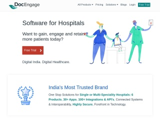 Screenshot for docengage.in