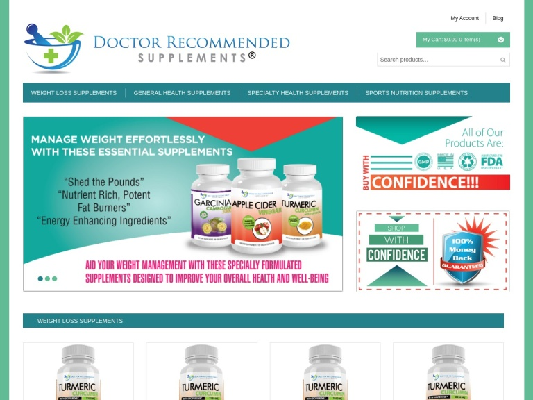 Doctor Recommended Health Supplements screenshot