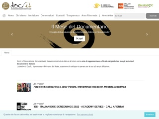 screenshot documentaristi.it