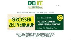 www.doitbaumarkt.ch Vorschau, Do it Baumarkt