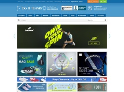 Do It Tennis.com screenshot