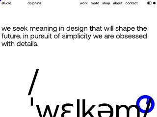 Screenshot για την ιστοσελίδα dolphinsonline.gr