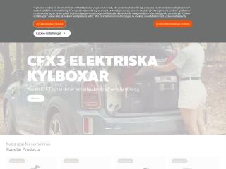 Skärmdump för dometic.se