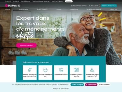 Dometvie.fr : solutions pour le maintien à domicile