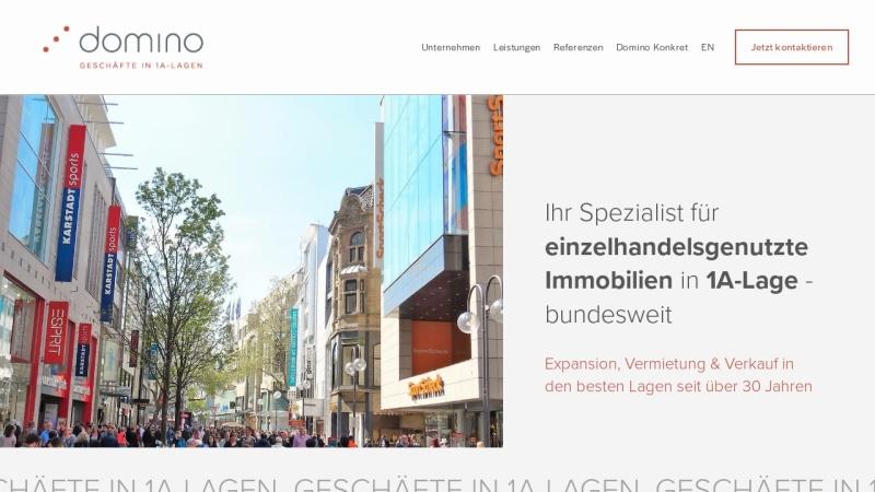 www.domino-dortmund.de Vorschau, Domino